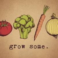 grow some. Art Prints & Posters by Leiah Stevermer