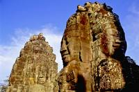 Enigmatic statues at Angkor Thom