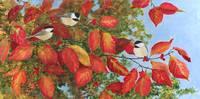 Chickadee Trio by Sharon Himes