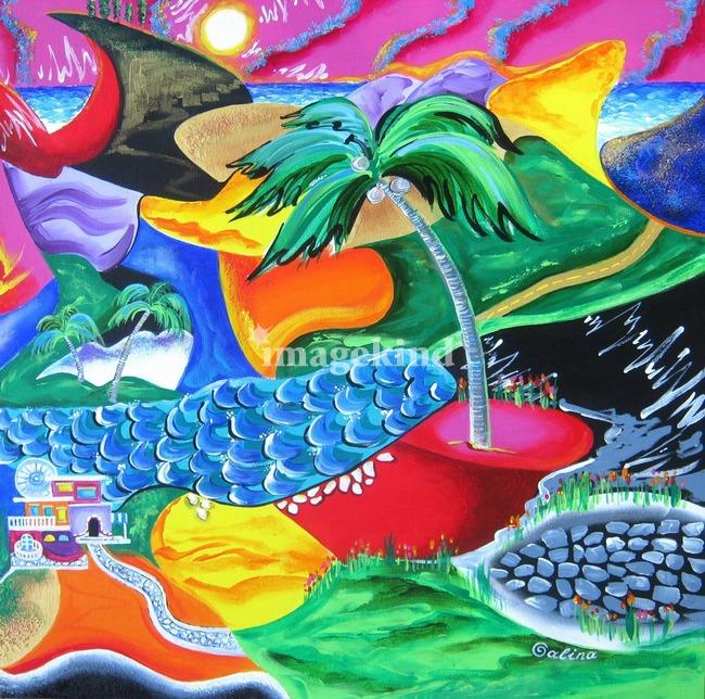 Colors of Puerto Rico by Galina Victoria