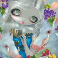 Circe and the Swine Art Prints & Posters by Jasmine Becket-Griffith