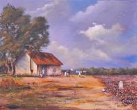 Before the Rain   FOLK ART SOUTHERN ART  CREOLE