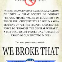 republican party: we broke that by r christopher vest