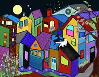 CAT NIGHT PLAY / RITA WHALEY by Rita Whaley