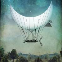 """""""The Moon Ship"""" by Catrin-Stein"""