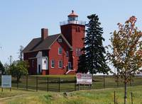 Two Harbors MN lighthouses