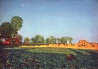 Landscape by Foed Madox Brown
