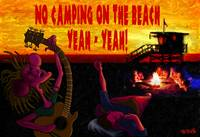 No Camping On The Beach