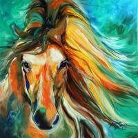 THUNDER RUN by Marcia Baldwin