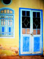 OLD BLUE DOOR, V2 BY NAWFAL JOHNSON NUR, in Penang