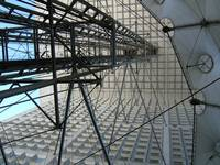 La Grande Arche Exposed Structure