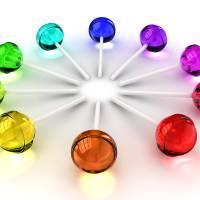 """Rainbow lollipops"" by rainbowarts"