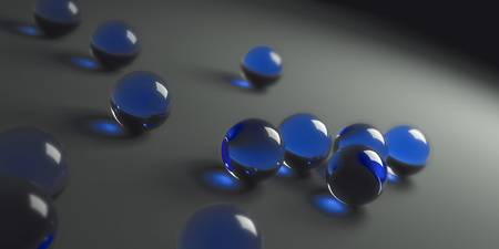Blue Marbles
