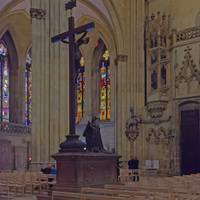 Cathedral, Regensburg 14B by Priscilla Turner