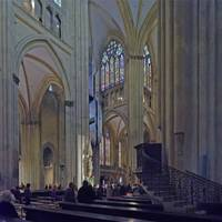 Cathedral, Regensburg 16A by Priscilla Turner