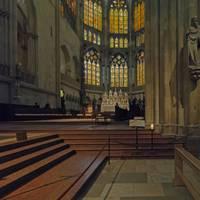 Cathedral, Regensburg 20B by Priscilla Turner