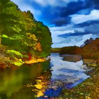 """""""Harriman State Park Fall / Autumn Scene"""" by New-Yorkled"""