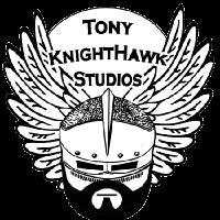 logo trans 3x3 Art Prints & Posters by Tony KnightHawk