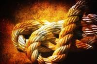 The heavy ropes