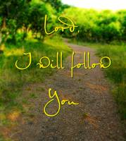 lord i will follow you