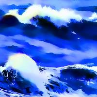 Ocean Wave Abstract