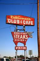 Route 66 - Cattleman's Club and Cafe