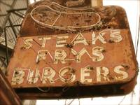 Steaks Frys Burgers