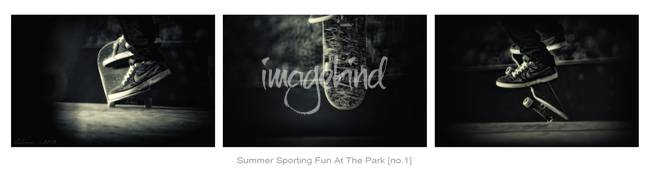 Summer Sporting Fun At The Park [no.1]