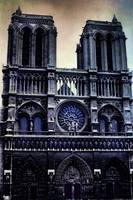 Notre Dame Cathedral Dark