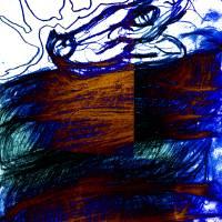 blue snake by siniša (sine) berstovšek (sinonim)