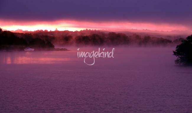 Sunrise on Lough Erne