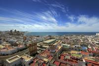 Across The Rooftops Of Cadiz