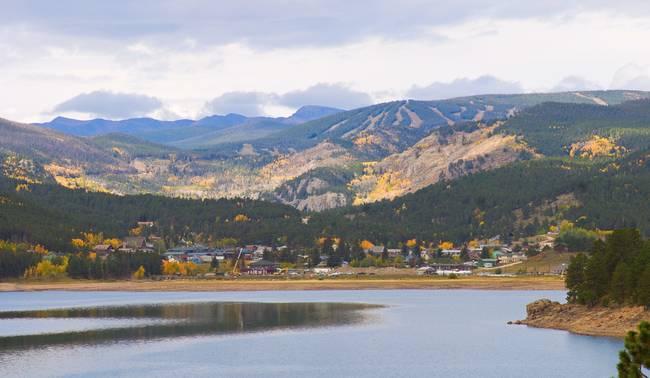 Nederland Colorado Scenic Autumn View