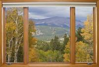 Rocky Mountain Picture Window Scenic View