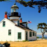 """Point Pinos Light, Pacific Grove,CA"" by ksjorgensen"