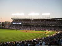 Wrigley Field Before Sundown