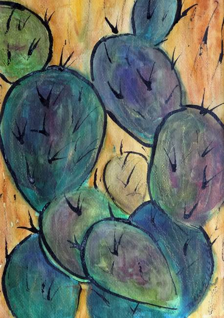 Prickly Pear Series #8