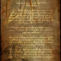 """""""Chief Tecumseh Poem Attribution"""" by WaynePhotoGuy"""