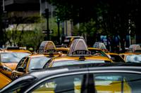 Cabs in Manhattan