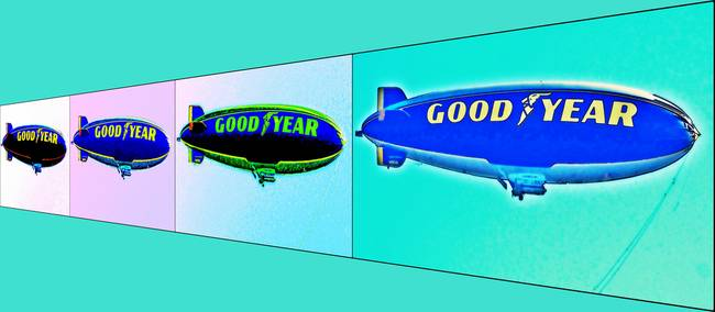 Four Blimps