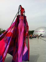 stiltwalker, floriade 2012