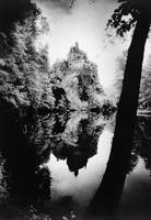 Burg Kriebstein, Germany (b/w photo)