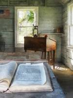 One Room Schoolhouse Wtih Book