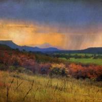 """montezuma valley- light rain"" by rchristophervest"