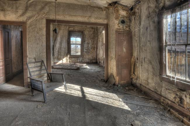 Old Living Room by Betty Sederquist