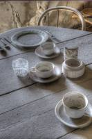 Dusty Table Setting