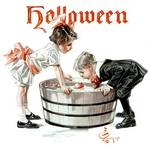 Bobbing for Apples Halloween party - Copy