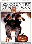 Halloween Fiddler by Norman Rockwell CG October 22