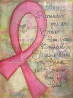 Always Remember (Cancer Ribbon)