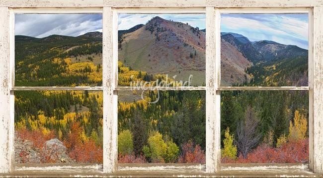 colorful colorado panorama picture window frame ar by lightningman 2012 - Window Frame Art